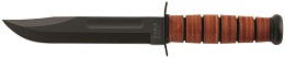 KA-BAR 1220 United States Army Straight Edge Full Tang Fighting Utility Knife.