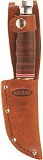 KA-BAR Game Hook Hunter Embossed Leather Belt Sheath.Sheath