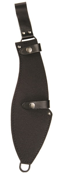 Secure Heavy Duty Machete Sheath With Double Snap Closures And Leg Lashing Ring.