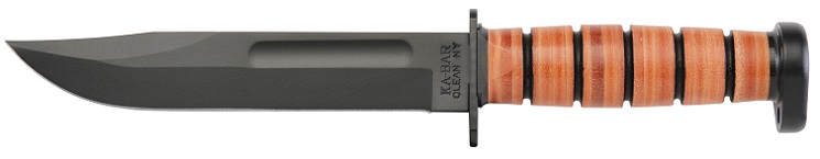 KA-BAR 1317 DOG'S HEAD Fighting Utility Knife. A Collectable Fixed Blade Knife Just Introduced In 2015