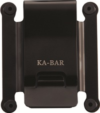 KA-BAR TDI Black Stainless Steel Belt Clip