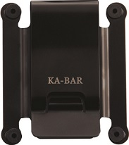 KA-BAR 1480CLIP TDI Black Stainless Steel Replacement Belt Clip.
