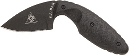 This is the original KA-BAR 1480 TDI Law Enforcement tactical self-defense straight edge concealment back up knife.