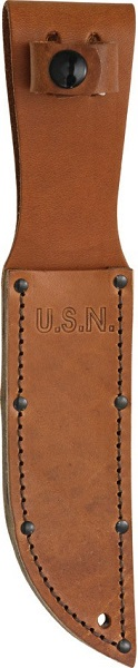 Mark 1 Leather U.S. Navy Embossed Sheath