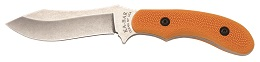 "KA-BAR 5602 Johnson Adventure Blades-The ""Gamestalker"" Full Tang 440A Stainless Steel U.S. Made Fixed Blade Hunting Utility Knife with Front Drawstring Cargo Pouch."