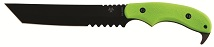 Nuclear Green ZOMBIE KILLER KNIVES.
