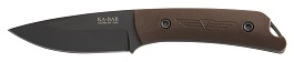 KA-BAR #7502 Jarosz GLOBETROTTER Fixed Blade Knife.