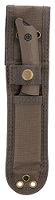 Jarosz brown Molle Compatible heavy-duty polyester knife sheath.