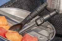 The SPORK is great for on the road, in the field, or at camp.