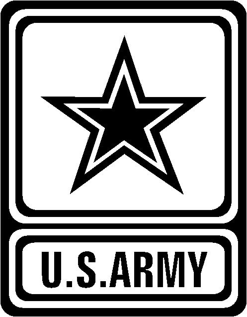 United States Army Square Star Logo.