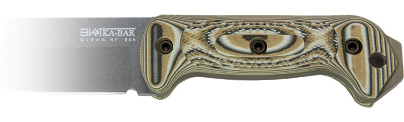 Tomar 39 s ka bar knives becker bk2vz custom g 10 knife scales for Becker payment plan