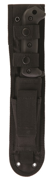 KA-BAR Becker BK10S CREWMAN Utility Knife Sheath with Front Storage Pouch and Leg Lashing Ports.