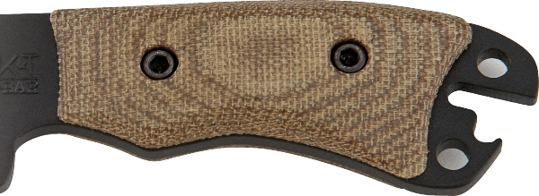 KA-BAR BK11HNDL Custom Designed Becker Necker Micarta Scales.
