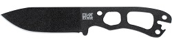 "KA-BAR BK11 ""Becker Necker"" 1095 Cro-Van Steel Straight Edge Self Defense Neck Knife with Friction Release Sheath."