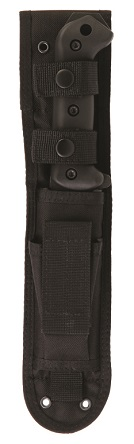 KA-BAR Becker BK22S Heavy-Duty Polyster Sheath With Front Storage Pocket.