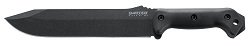 KA-BAR BK9 Becker Large Straight Edge Full Tang 1095 Steel USA Made Combat Bowie Knife.