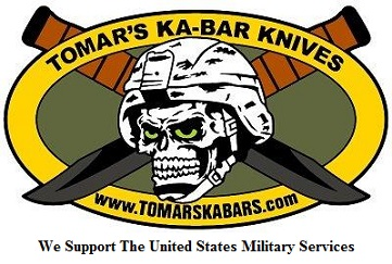 "TOMAR'S KA-BAR KNIVES is a registered American founded family run business located in upper Northeastern New York State that was established in February of 2001.We are a licensed dealership, authorized by KA-BAR Knives Inc. to sell KA-BAR products worldwide.We strive to provide our customers quality KA-BAR products with a friendly old world ""real person"" service, a modern day fast USPS Priority mail delivery system, all at the lowest prices possible.We enjoy a personal relationship with our customers."
