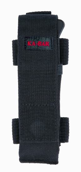 Black Ballistic Nylon Large Mule Multi Position Sheath.