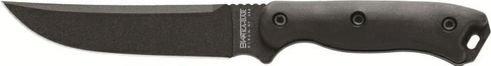KA-BAR Becker BK15 Short Trailing Point Full Tang Straight Edge Knife with Free Extra Handle Set.